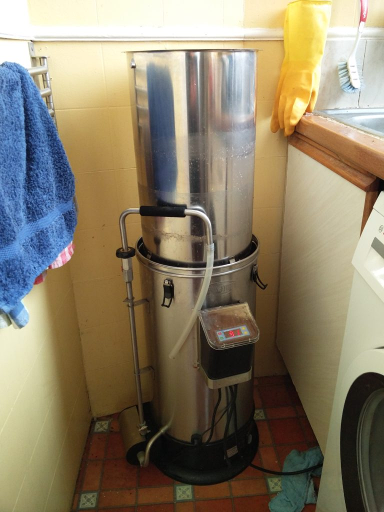 Sparging with the Grainfather