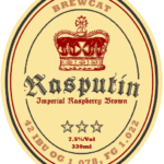 Rasputin Raspberry Imperial Brown Ale still drinking really well