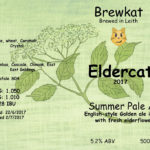 Elderflower IPA 2017